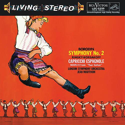 Alliance Jean Martinon - Borodin: Symphony No. 2 / Rimsky-korsakov: Caprico thumbnail