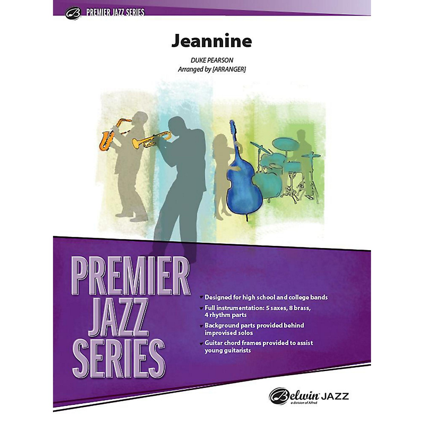 Alfred Jeannine Jazz Band Grade 4 Set thumbnail