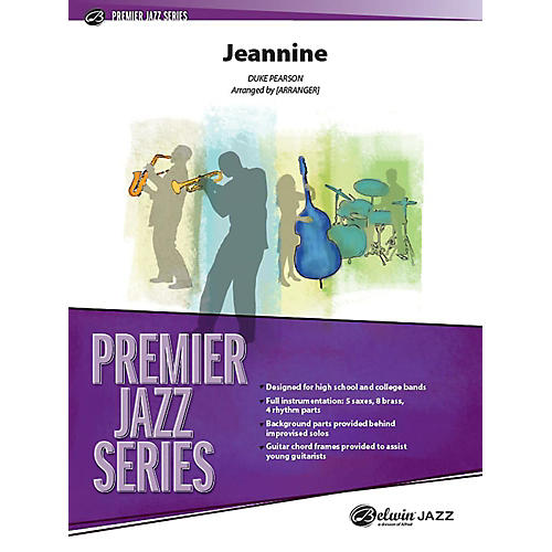 Alfred Jeannine Jazz Band Grade 4 Set thumbnail