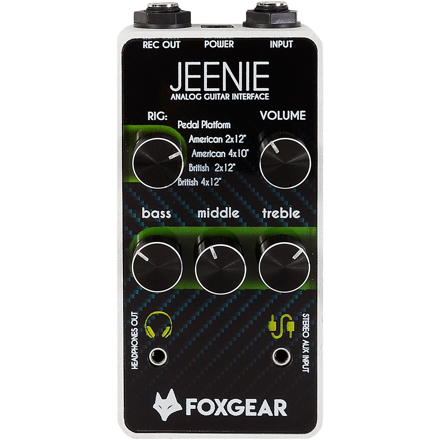 FoxGear Jeenie Analog Guitar Interface Effects Pedal thumbnail