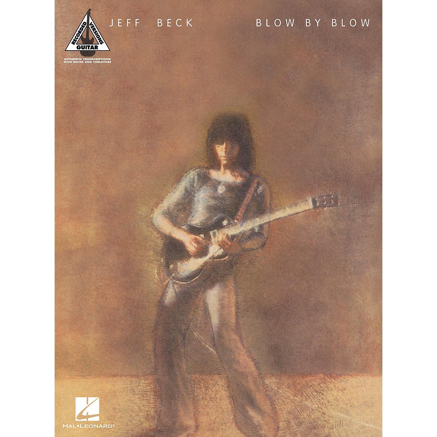 Hal Leonard Jeff Beck - Blow By Blow Guitar Tab Songbook thumbnail
