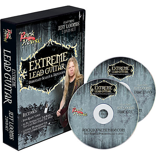 Rock House Jeff Loomis Extreme Lead Guitar: Dissonet Scales & Arpeggios thumbnail