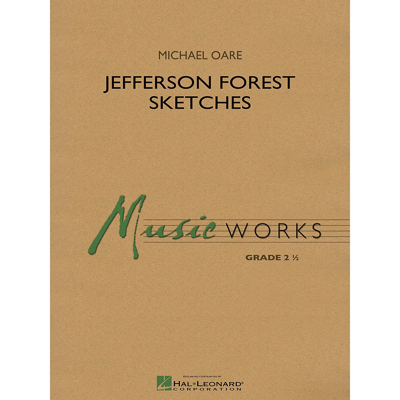 Hal Leonard Jefferson Forest Sketches Concert Band Level 2.5 Composed by Michael Oare thumbnail