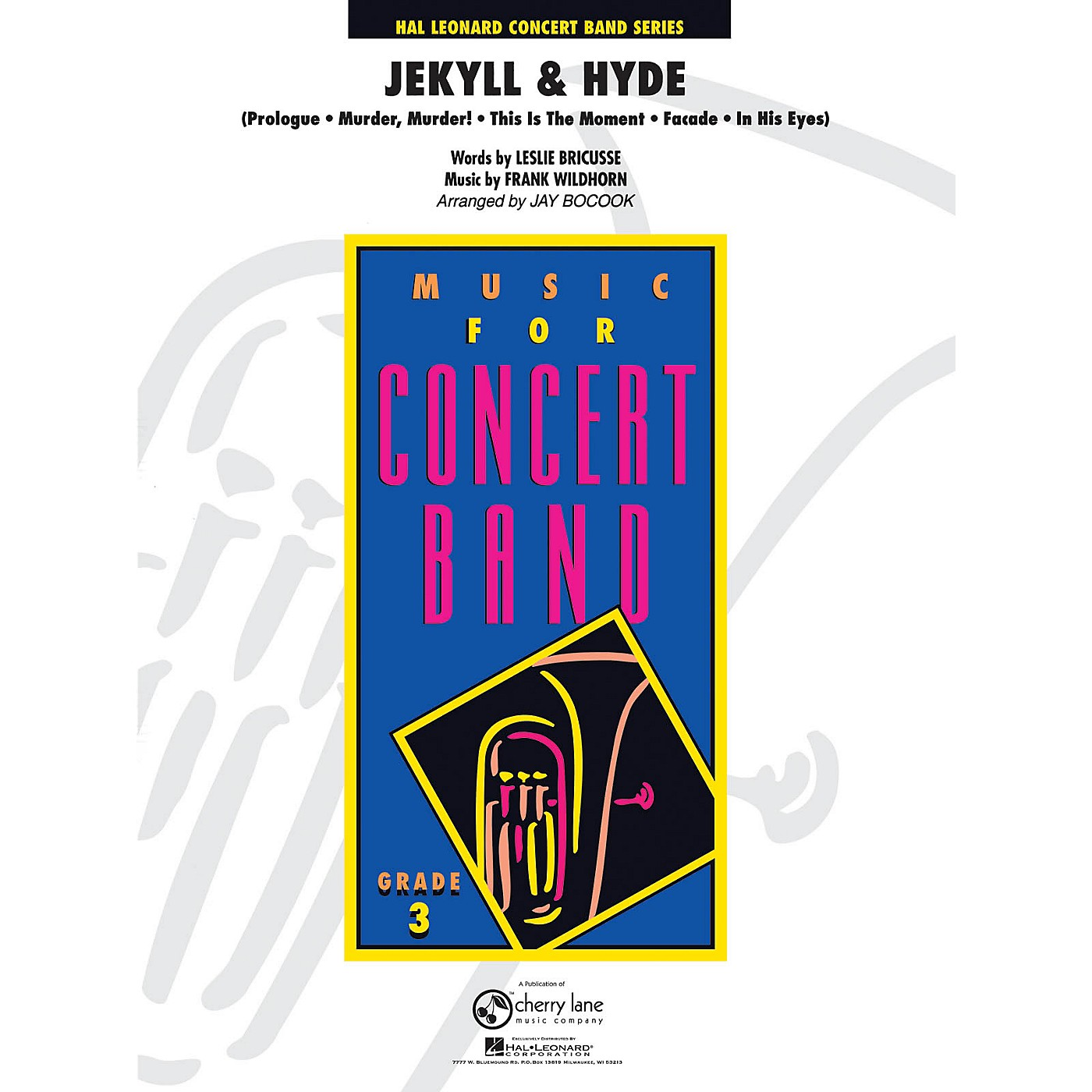 Cherry Lane Jekyll and Hyde - Young Concert Band Level 3 by Jay Bocook thumbnail