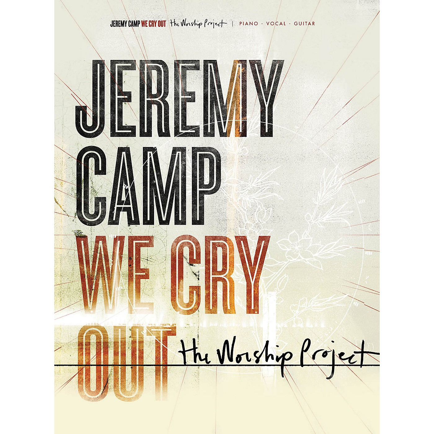 Hal Leonard Jeremy Camp - We Cry Out: The Worship Project PVG Songbook thumbnail