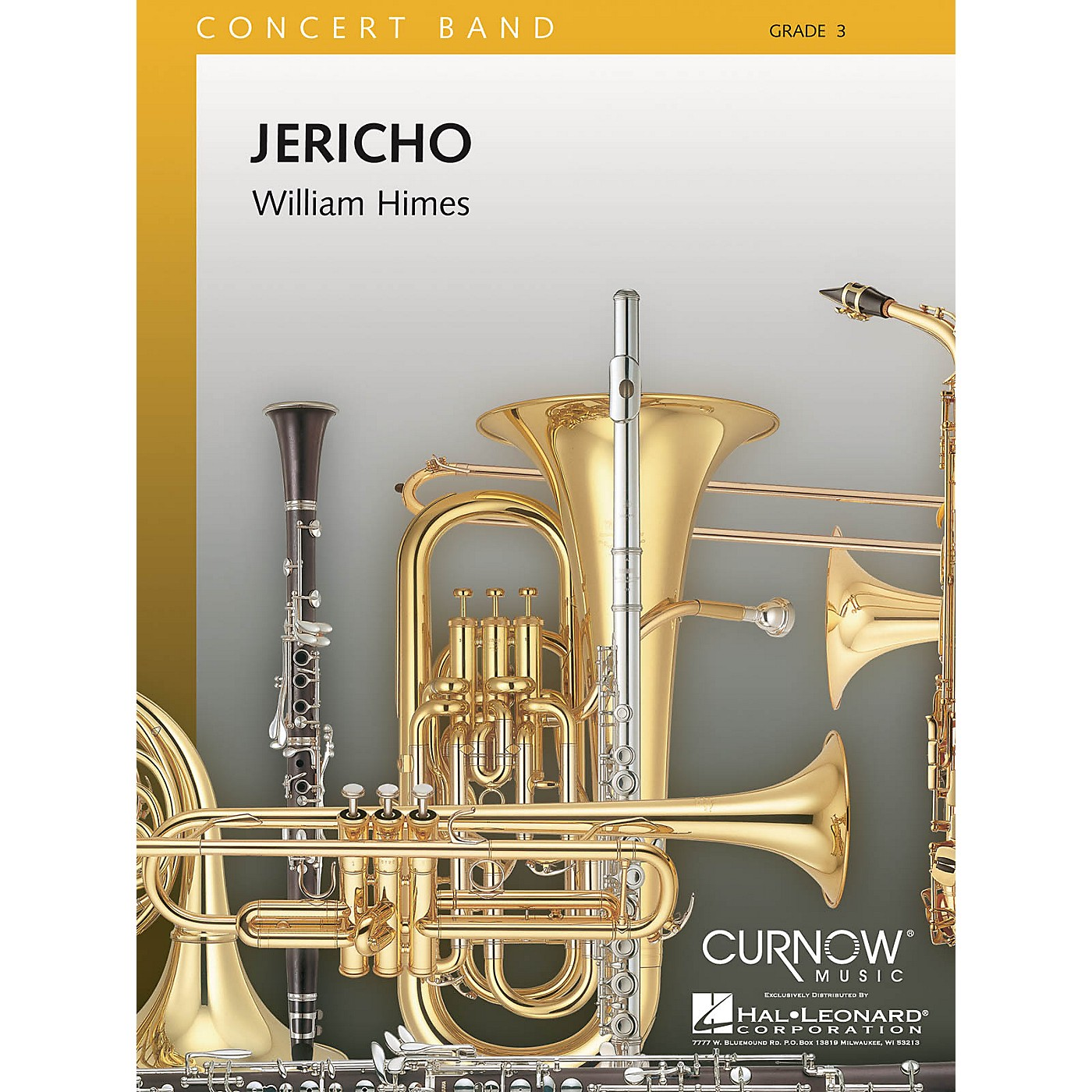 Curnow Music Jericho (Grade 3 - Score and Parts) Concert Band Level 3 Composed by William Himes thumbnail