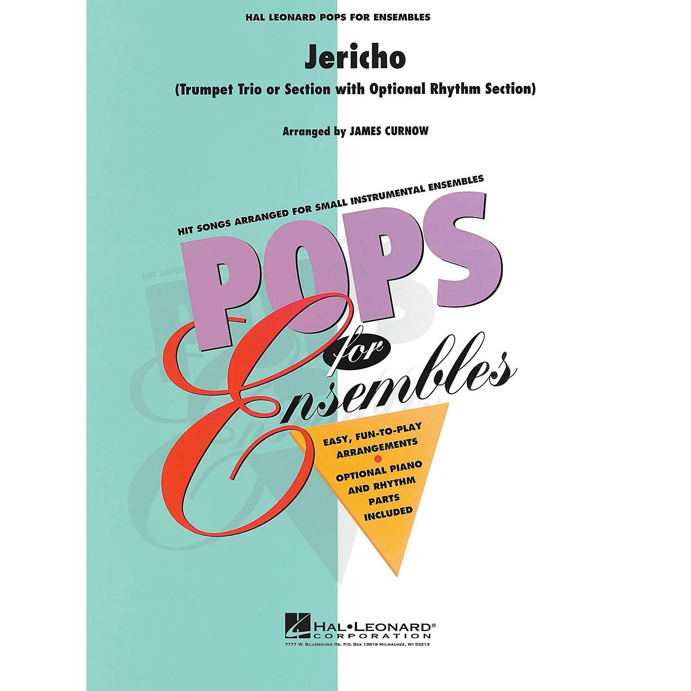 Hal Leonard Jericho (Trumpet Trio or Ensemble (opt. rhythm section)) Concert Band Level 2.5 Arranged by James Curnow thumbnail