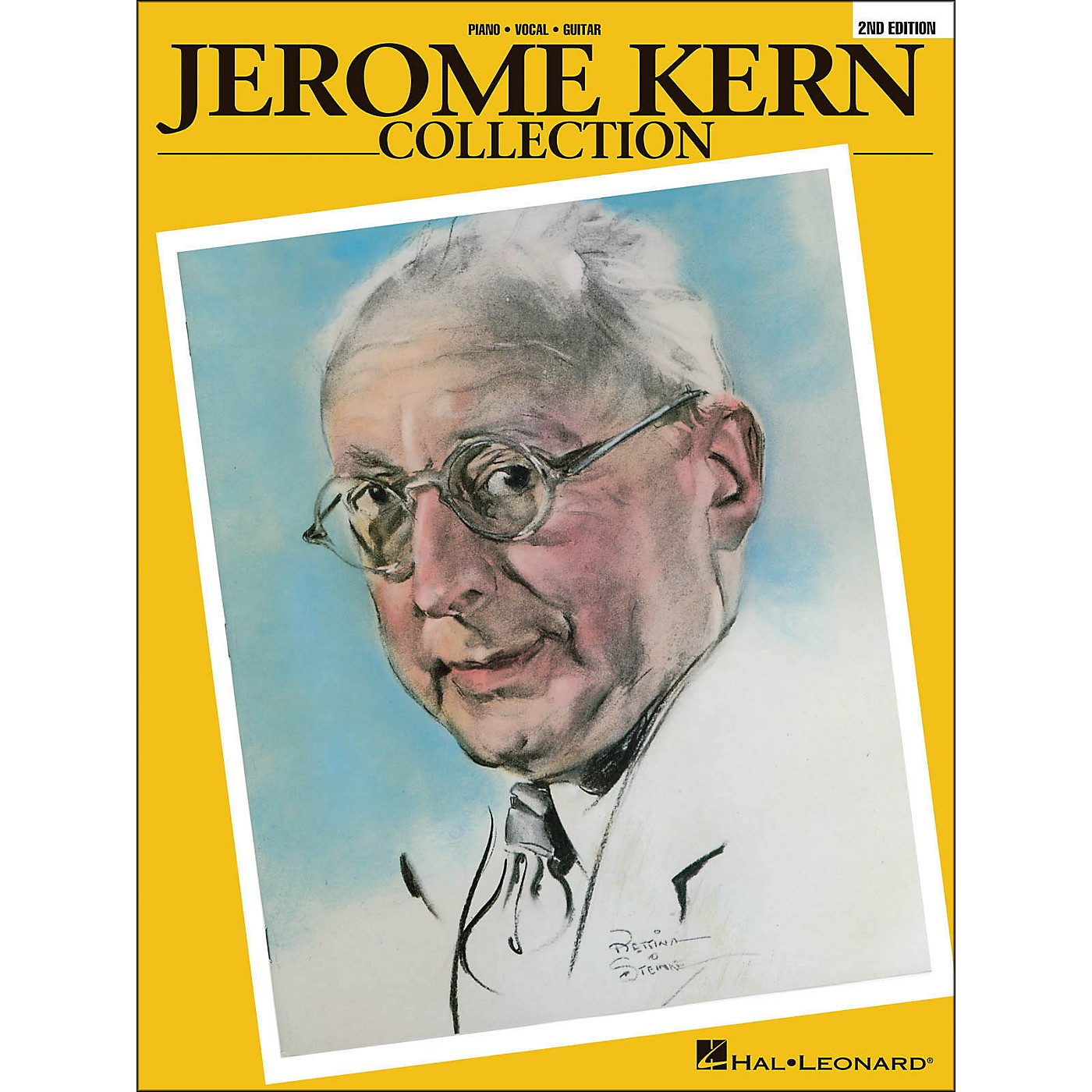 Hal Leonard Jerome Kern Collection - Soft Cover (2nd Edition) arranged for piano, vocal, and guitar (P/V/G) thumbnail