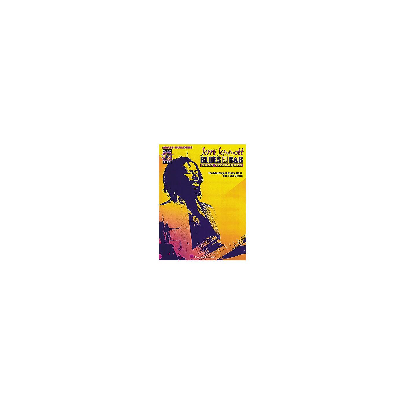 Hal Leonard Jerry Jemmott - Blues and Rhythm and Blues Bass Technique (Book/CD) thumbnail