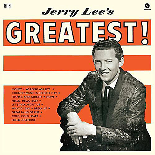 Alliance Jerry Lee Lewis - Jerry Lee's Greatest thumbnail