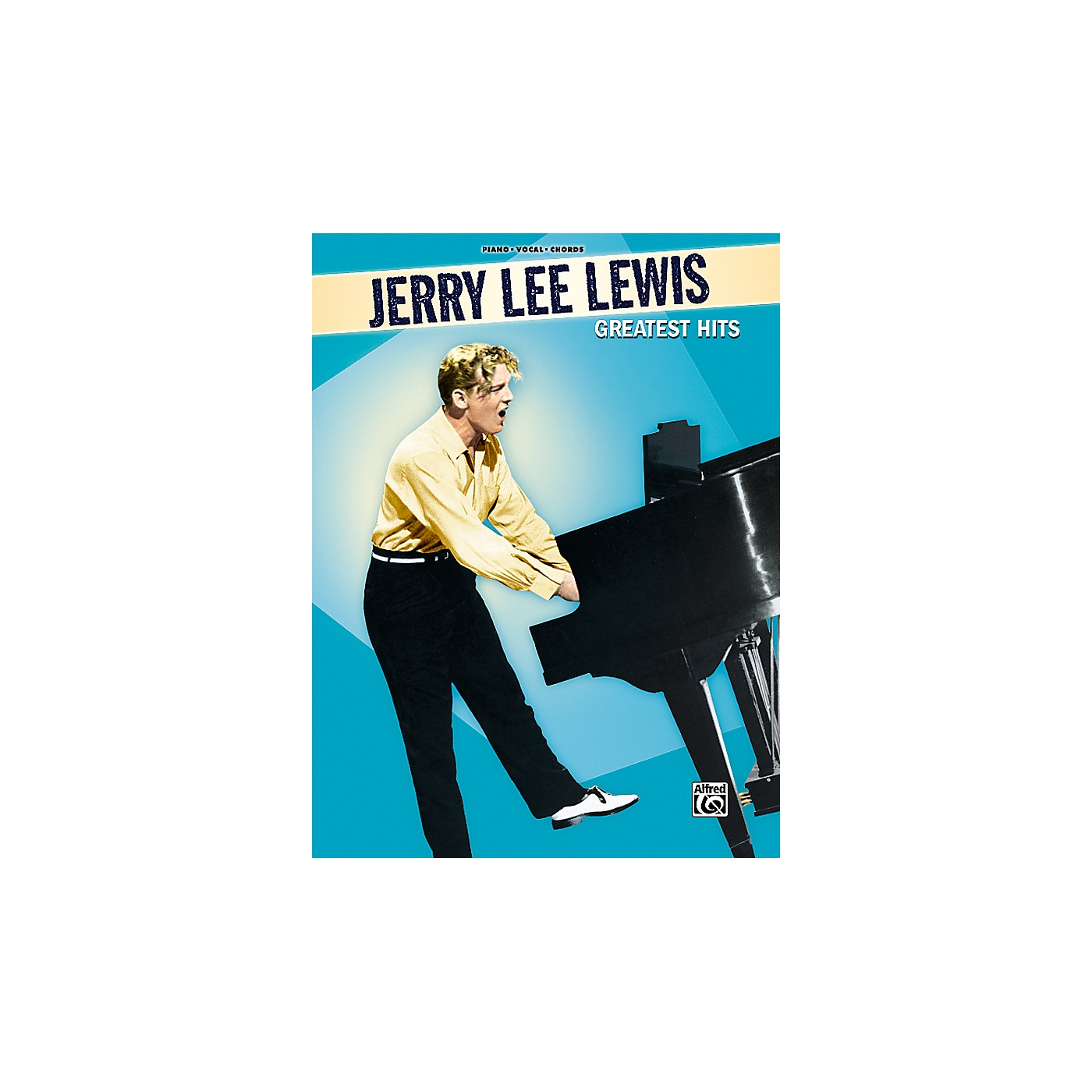 Alfred Jerry Lee Lewis Greatest Hits Piano, Vocal, Guitar Songbook thumbnail