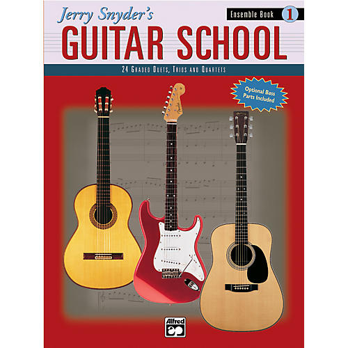 Alfred Jerry Snyder's Guitar School Ensemble Book 1 thumbnail