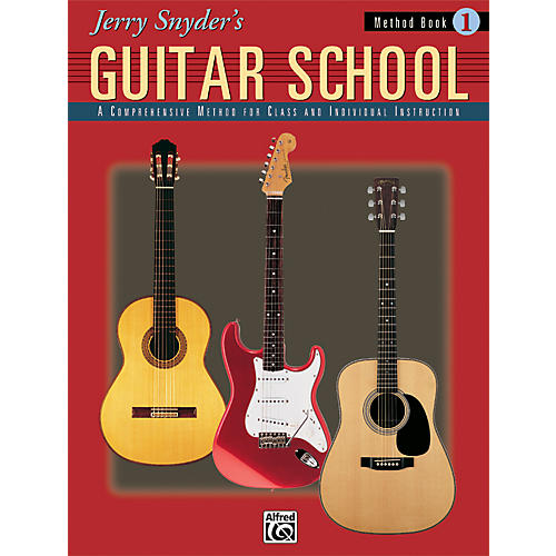 Alfred Jerry Snyder's Guitar School Method Book 1 Book thumbnail