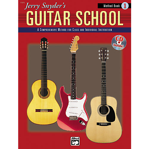 Alfred Jerry Snyder's Guitar School Method Book 1 thumbnail