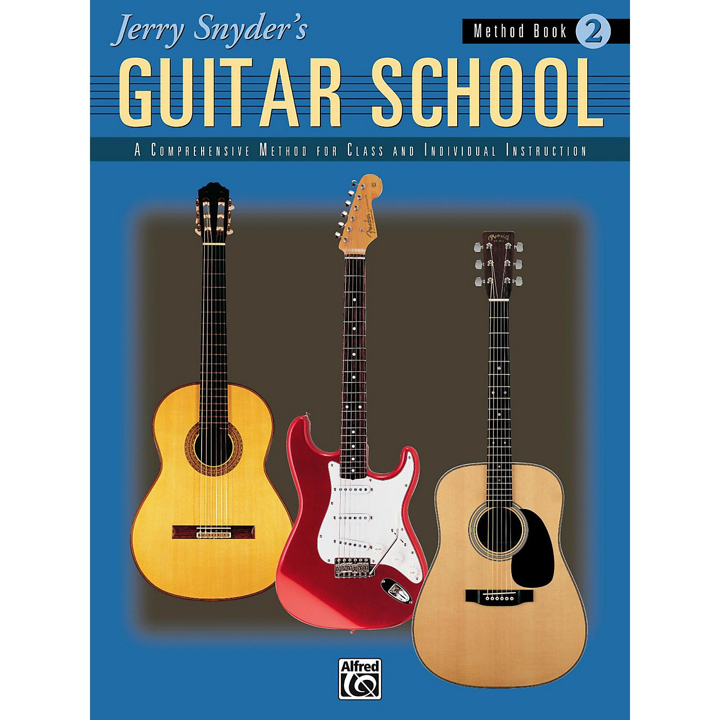 Alfred Jerry Snyder's Guitar School Method Book 2 Book thumbnail