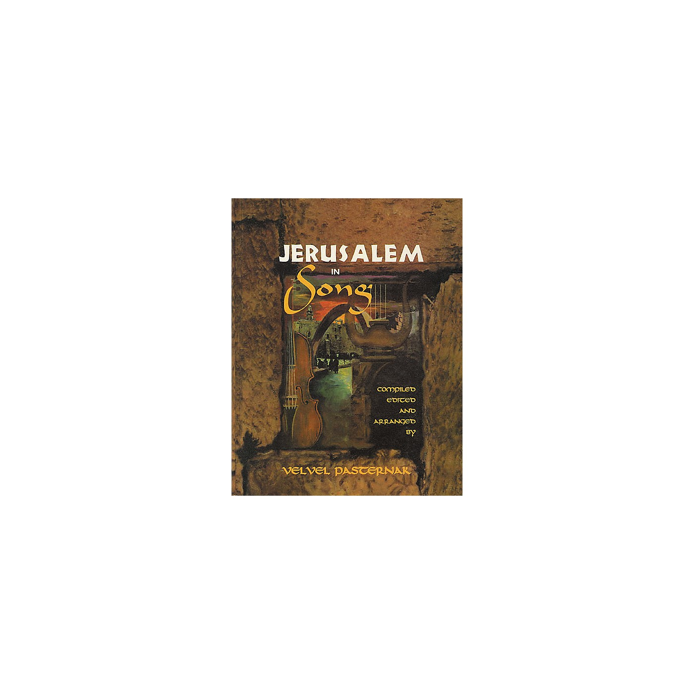 Tara Publications Jerusalem In Song Book with CD thumbnail