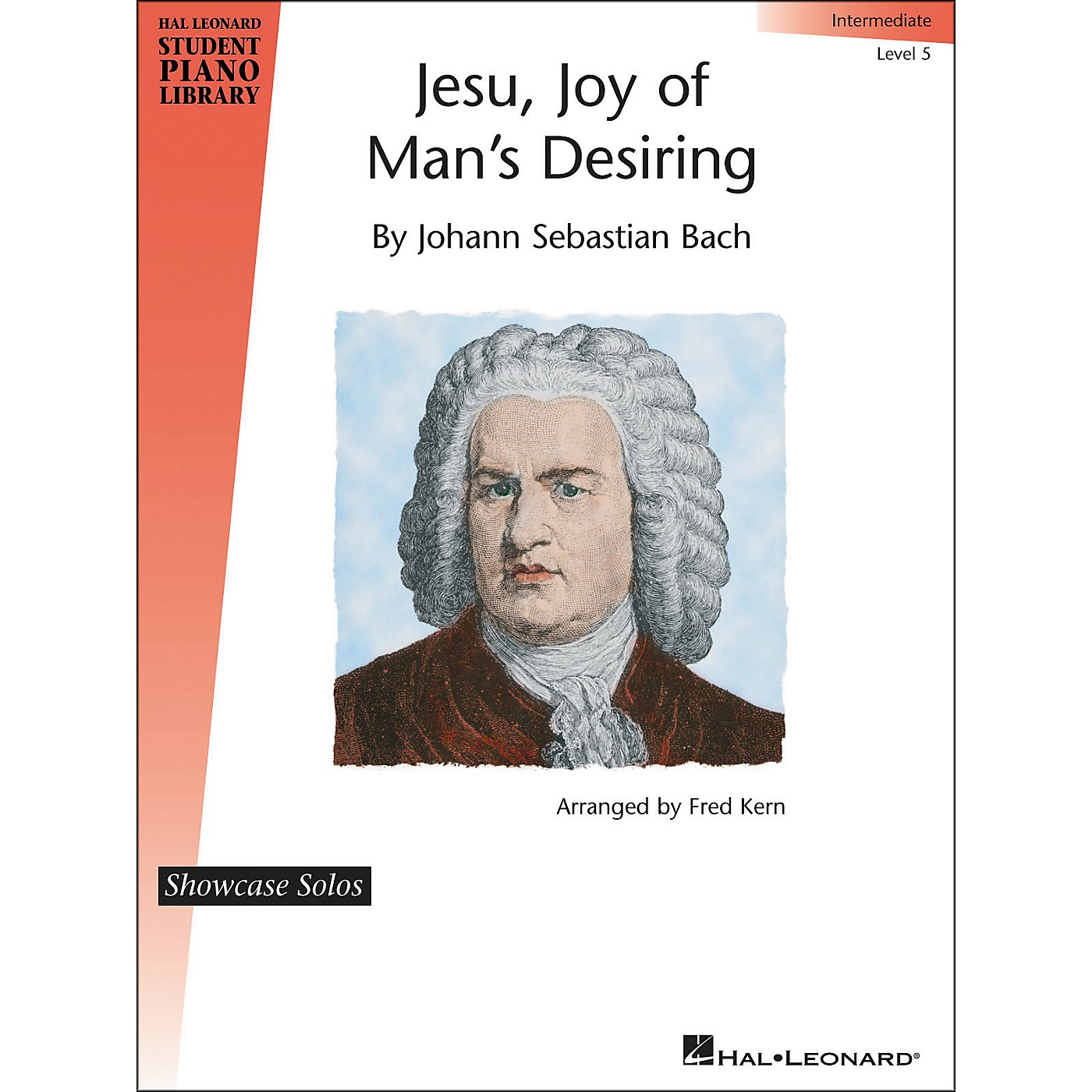 Hal Leonard Jesu, Joy Of Man's Desiring - J.S. Bach - Showcase Solo Level 5 Hal Leonard Student Piano Library by Fred Kern thumbnail