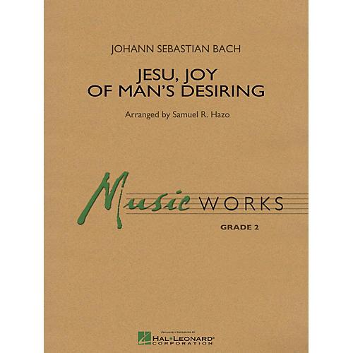 Hal Leonard Jesu, Joy of Man's Desiring Concert Band Level 2 Arranged by Samuel R. Hazo thumbnail