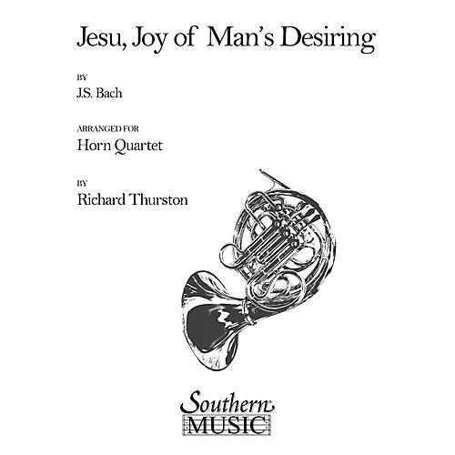 Southern Jesu, Joy of Man's Desiring (Horn Quartet) Southern Music Series Arranged by Richard E. Thurston thumbnail