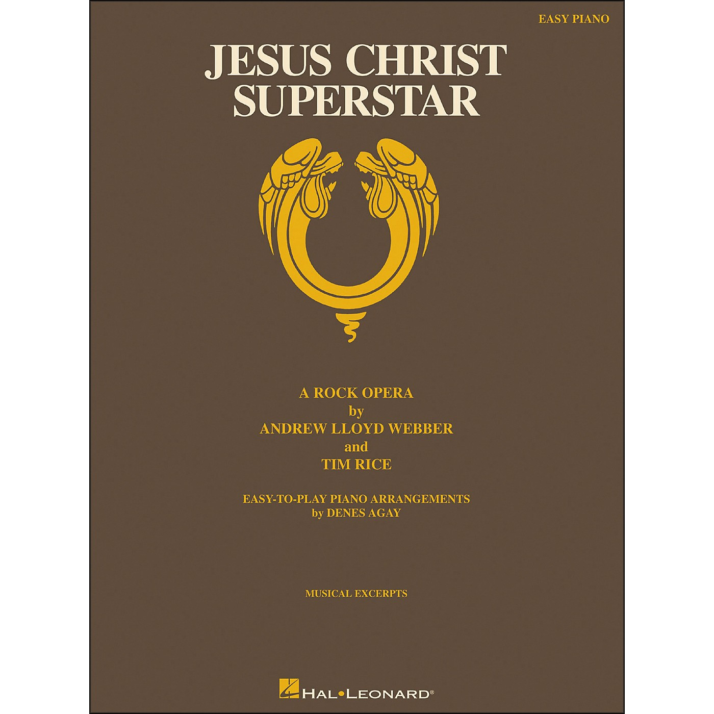 Hal Leonard Jesus Christ Superstar for Easy Piano thumbnail