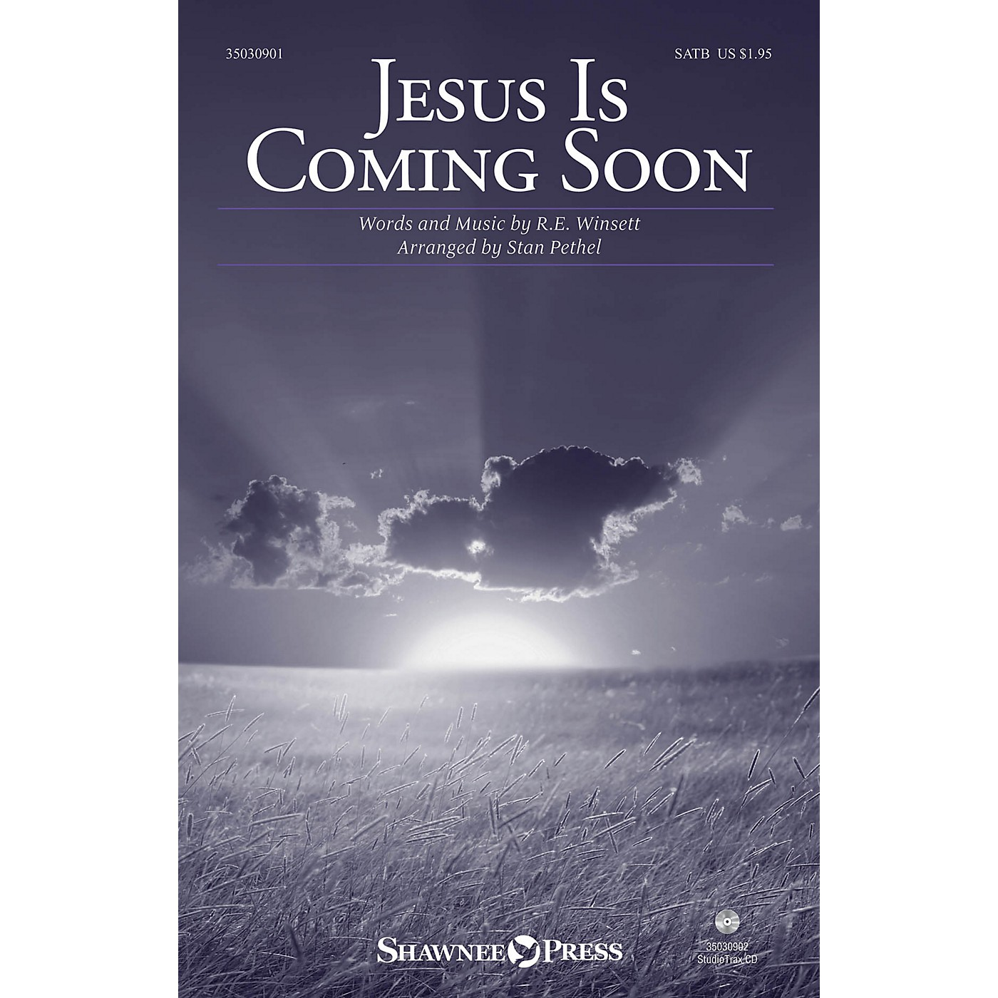 Shawnee Press Jesus Is Coming Soon SATB arranged by Stan Pethel thumbnail