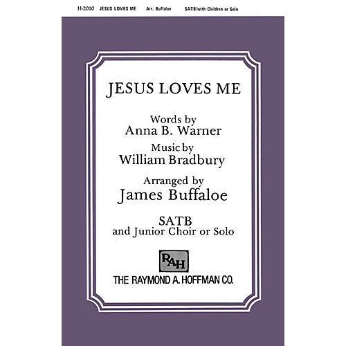 Fred Bock Music Jesus Loves Me SATB arranged by James Buffaloe thumbnail