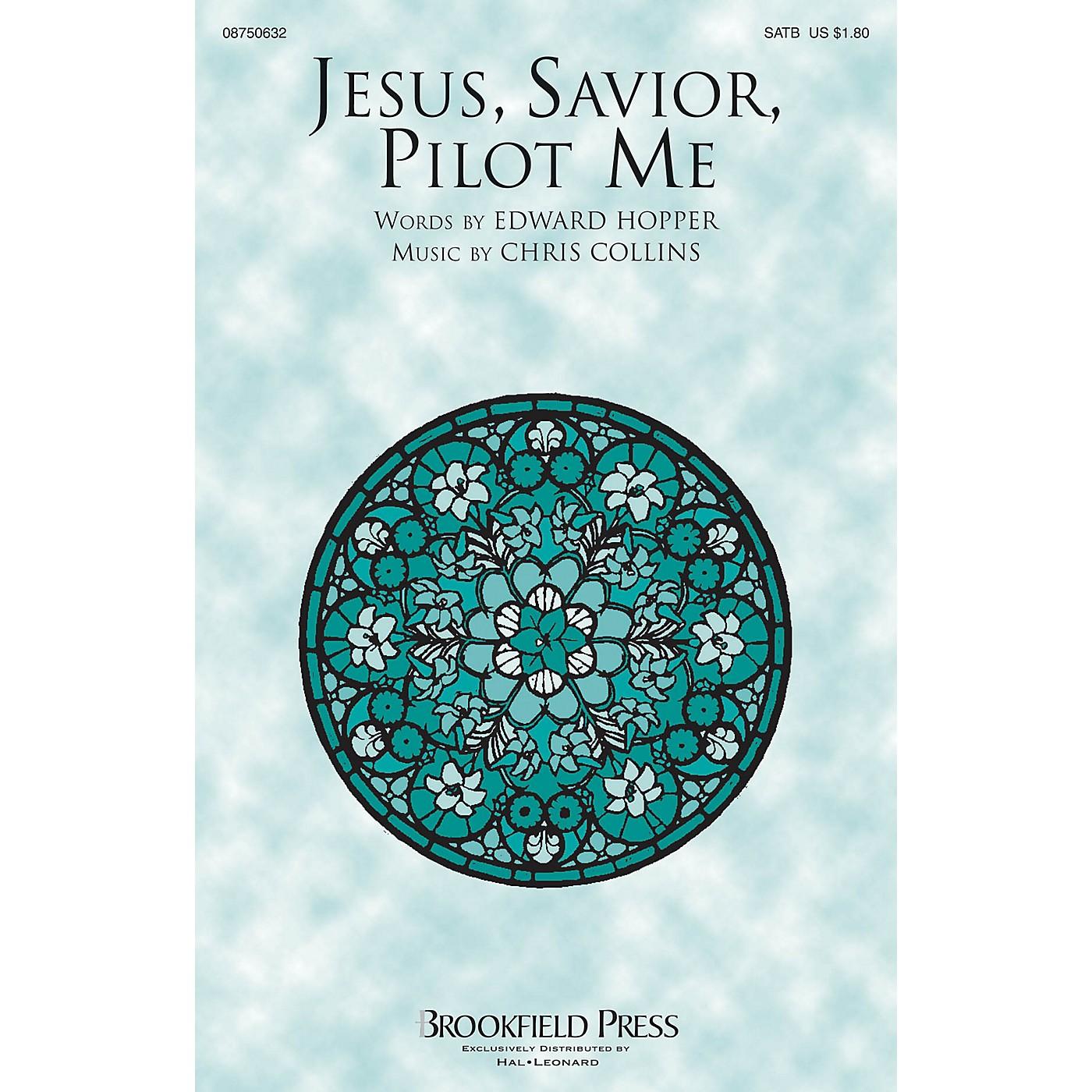 Brookfield Jesus, Savior, Pilot Me SATB composed by Chris Collins thumbnail