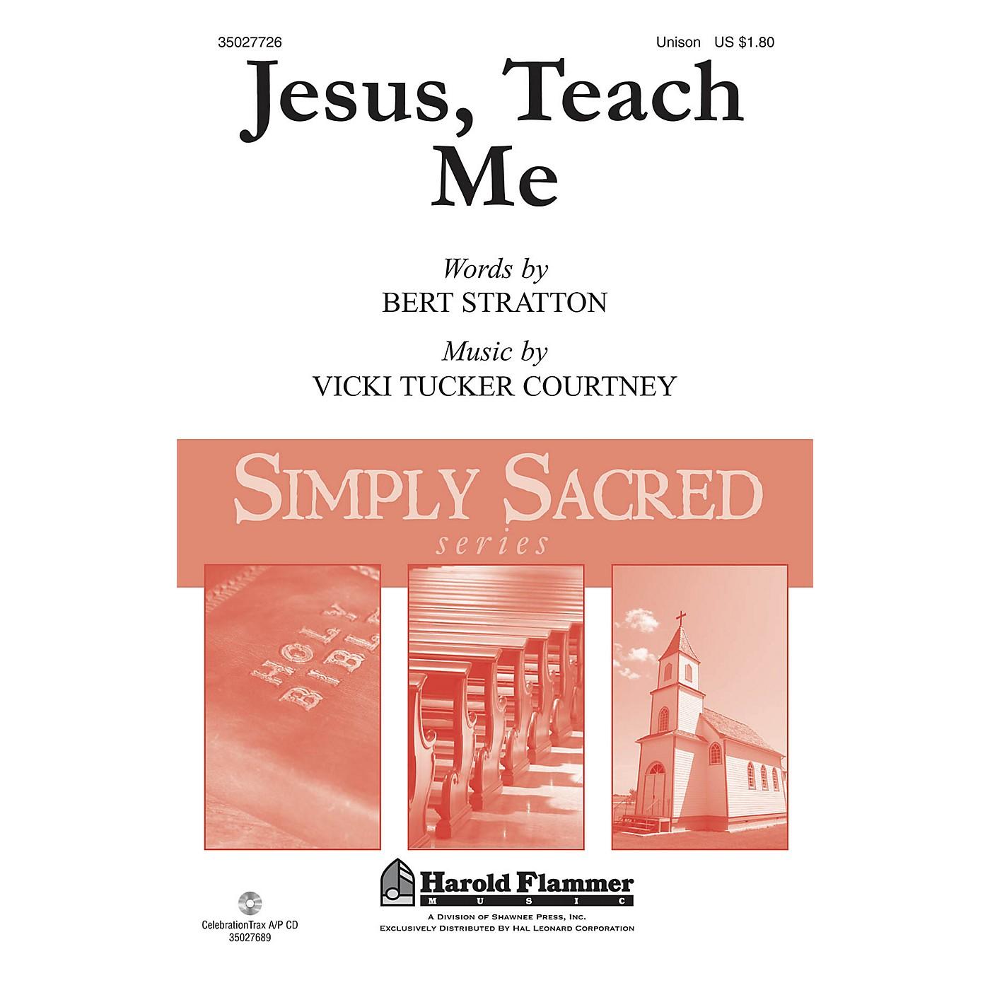Shawnee Press Jesus, Teach Me UNIS composed by Vicki Tucker Courtney thumbnail