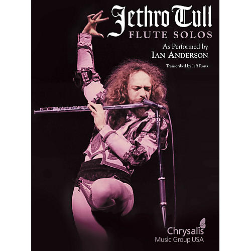 Hal Leonard Jethro Tull - Flute Solos (As Performed by Ian Anderson) Artist Books Series Performed by Jethro Tull thumbnail