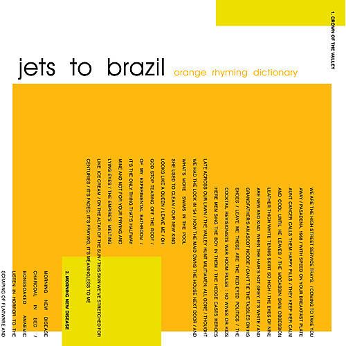 Alliance Jets to Brazil - Orange Rhyming Dictionary thumbnail