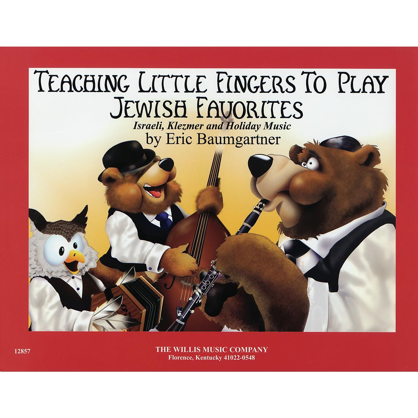 Willis Music Jewish Favorites (Teaching Little Fingers to Play/Mid-Elem Level) Willis Series thumbnail