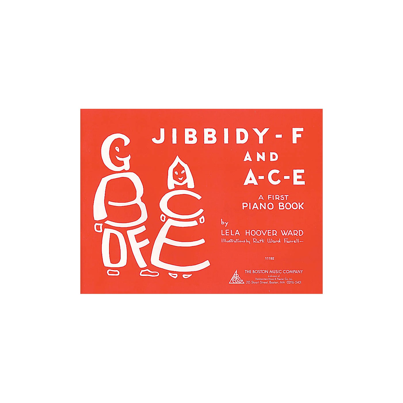 Music Sales Jibbidy-F and A-C-E (A Child's First Piano Book) Music Sales America Series Softcover thumbnail