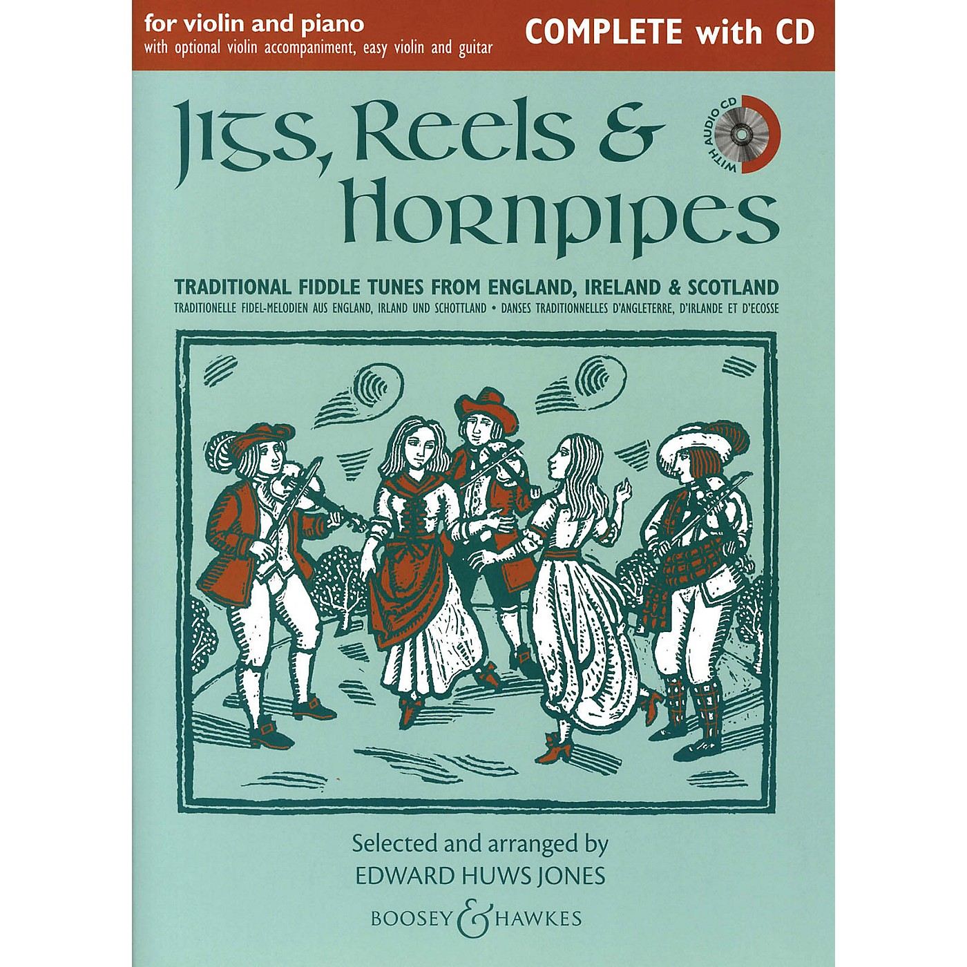 Boosey and Hawkes Jigs, Reels & Hornpipes (Complete Edition with CD) Boosey & Hawkes Chamber Music Series Softcover with CD thumbnail