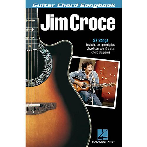 Hal Leonard Jim Croce - Guitar Chord Songbook Guitar Chord Songbook Series Softcover Performed by Jim Croce thumbnail