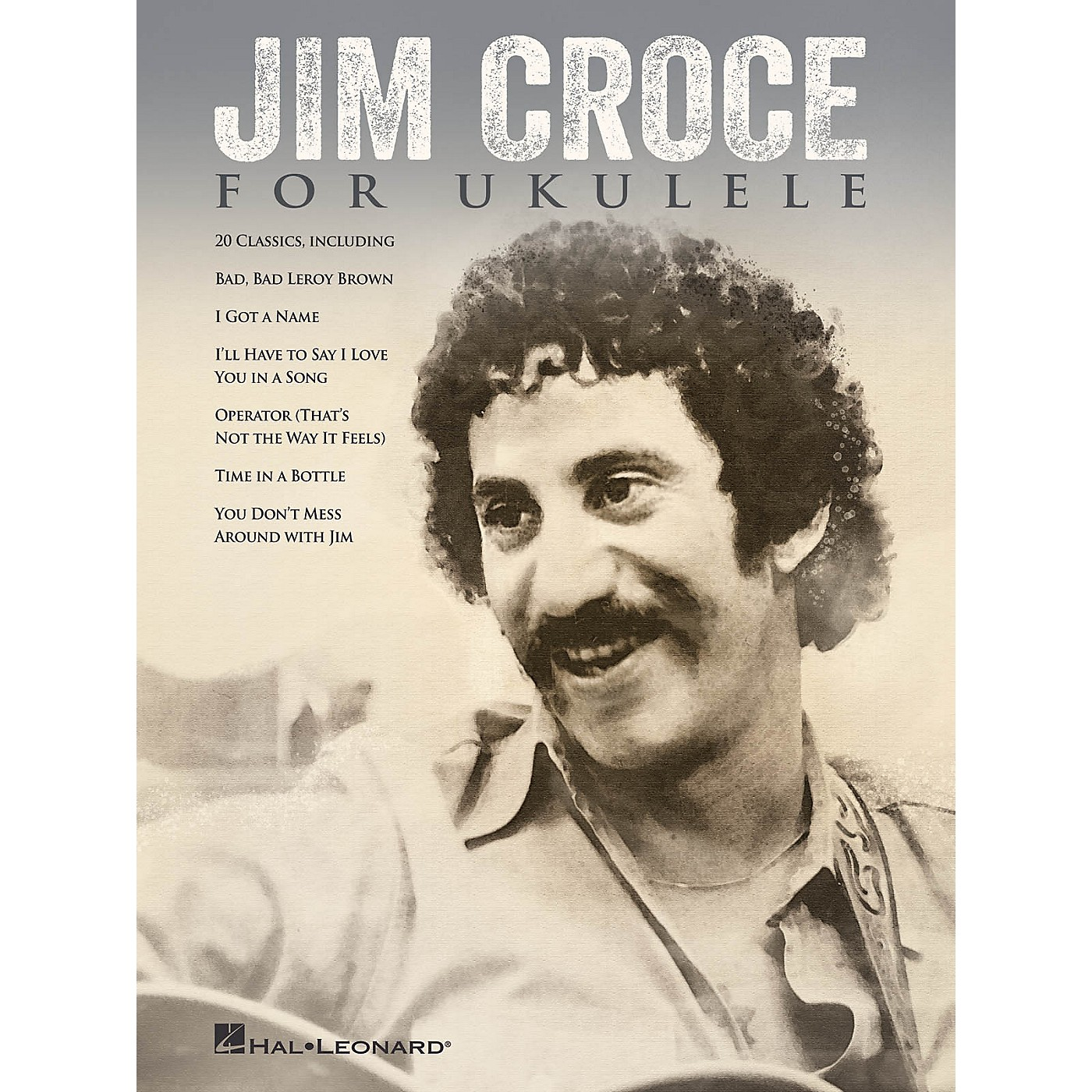 Hal Leonard Jim Croce for Ukulele Ukulele Series Softcover Performed by Jim Croce thumbnail
