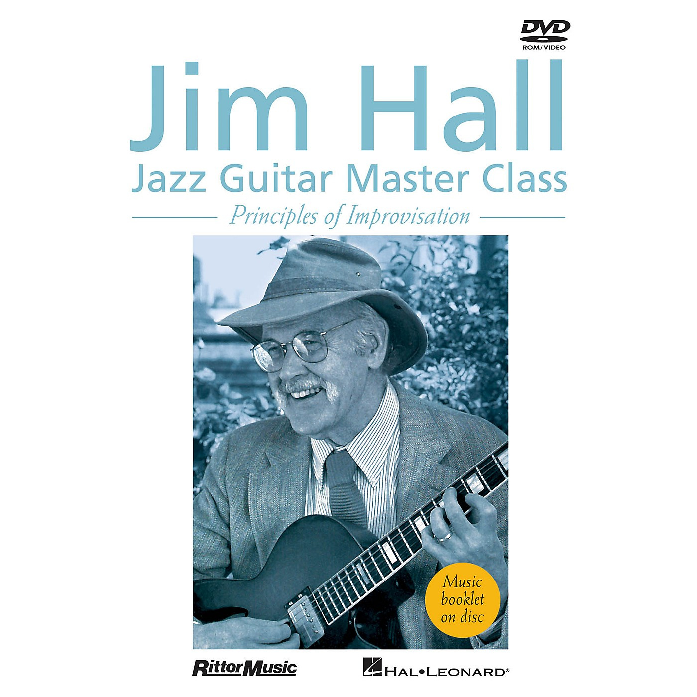Rittor Music Jim Hall - Jazz Guitar Master Class (Principles of Improvisation) DVD Series DVD Performed by Jim Hall thumbnail