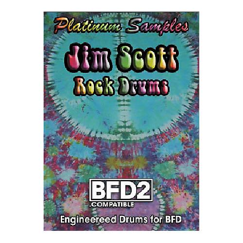 Platinum Samples Jim Scott Rock Drums Volume 2 BFD2 Compatible-thumbnail