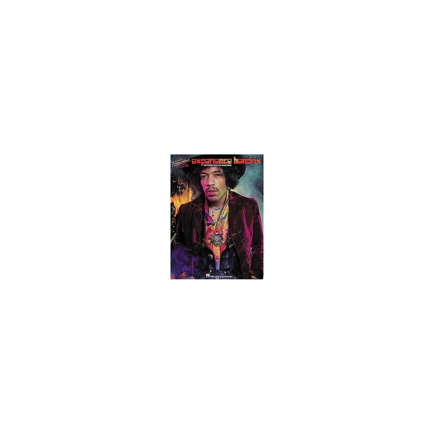 Hal Leonard Jimi Hendrix - Experience Hendrix Music Book thumbnail