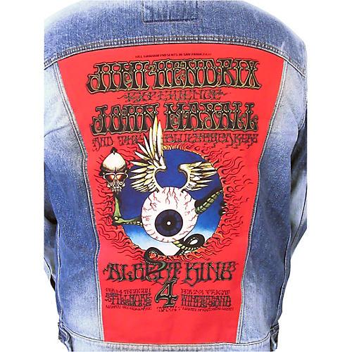 Dragonfly Clothing Jimi Hendrix - Mayall - King - Flying Eye Boys Denim Jacket thumbnail