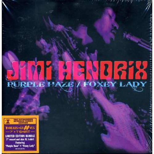 Alliance Jimi Hendrix - Purple Haze / Foxey Lady [With T-Shirt] thumbnail