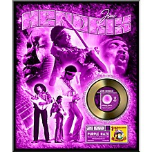 24 Kt. Gold Records Jimi Hendrix - Purple Haze Gold 45 Limited Edition of 2500