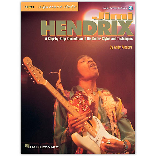 Hal Leonard Jimi Hendrix - Signature Licks Guitar Tab (Book/Online Audio)-thumbnail