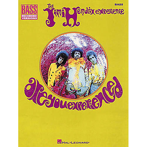 Hal Leonard Jimi Hendrix Are You Experienced Bass Guitar Tab Songbook thumbnail