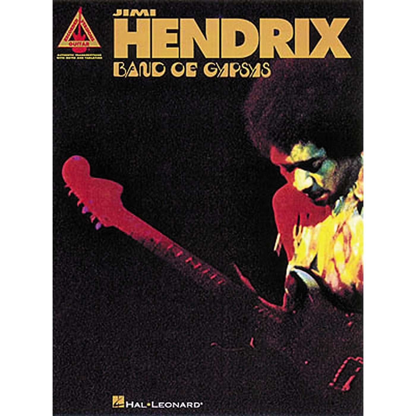 Hal Leonard Jimi Hendrix Band of Gypsys Guitar Tab Songbook thumbnail