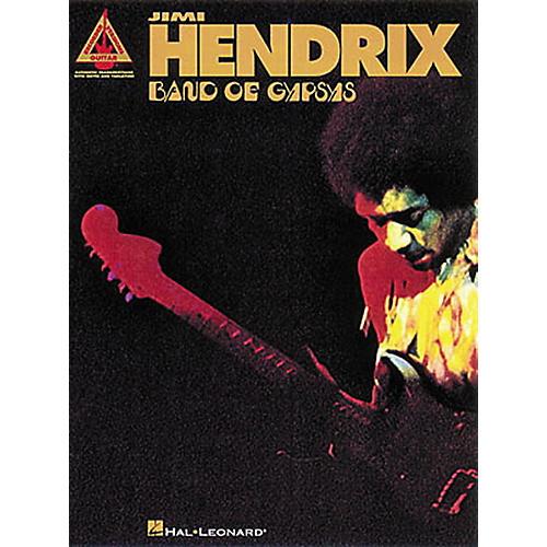 Hal Leonard Jimi Hendrix Band of Gypsys Guitar Tab Songbook-thumbnail