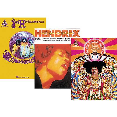 Hal Leonard Jimi Hendrix Complete Guitar Tab Library-thumbnail