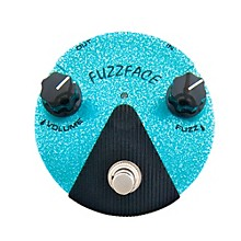 Dunlop Jimi Hendrix Fuzz Face Mini Turquoise Guitar Effects Pedal