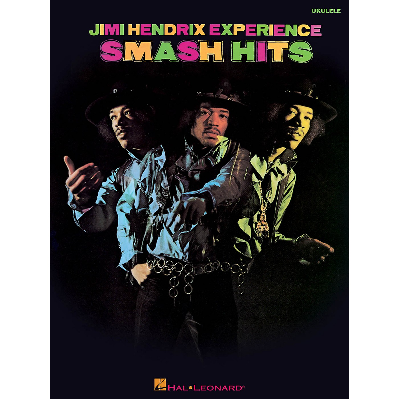 Hal Leonard Jimi Hendrix Smash Hits For Ukulele thumbnail