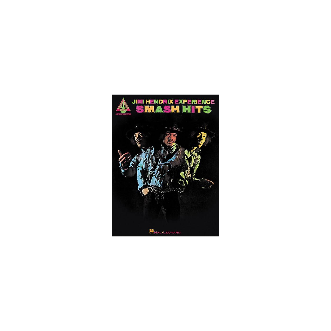 Hal Leonard Jimi Hendrix Smash Hits Guitar Tab Songbook thumbnail