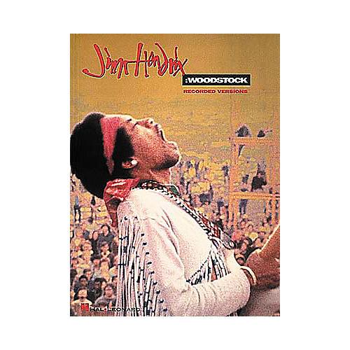 Hal Leonard Jimi Hendrix Woodstock Guitar Tab Songbook thumbnail